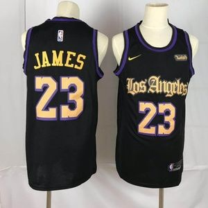 LeBron James #23 Los Angeles Lakers Jersey